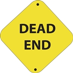 "12""w x 12""h Aluminum Trail Marker Sign ""Dead End"""